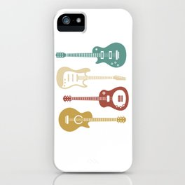 Guitar Player Bassist iPhone Case