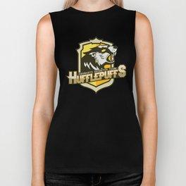 Hogwarts Quidditch Teams - Hufflepuff Biker Tank