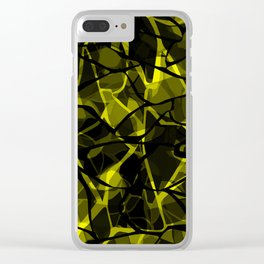 Abstract 31 camouflage Clear iPhone Case