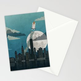 Rocket City Stationery Cards