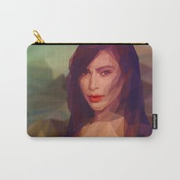 La Gioconda / Kim Kardashian / Mona Lisa Carry-All Pouch