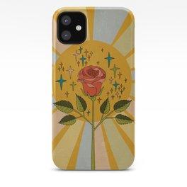 Sun rose iPhone Case