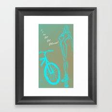 FIT ♥ Framed Art Print