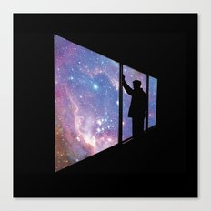 Stare Into Everything Canvas Print