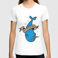 narwhal T-shirts featuring Narwhal by Katie Bell