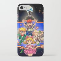 earthbound iPhone & iPod Cases featuring Welcome to Earthbound by kichisu