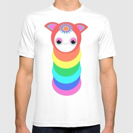 Rainbow Caterpillar Bug  T-shirt