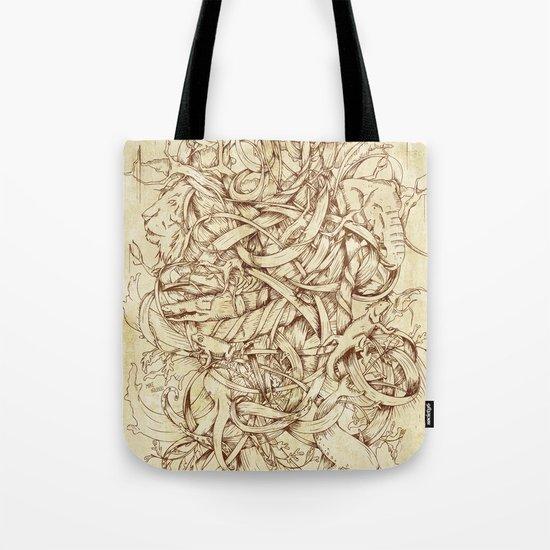 Water,Earth & Air Tote Bag
