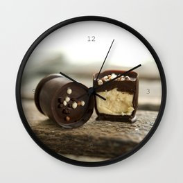 Chocolate cups II Wall Clock