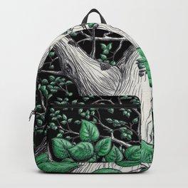 Big tree in black Backpack