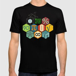 Math in color T-shirt