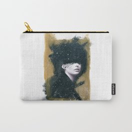 Gold Woman Carry-All Pouch