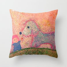 let me go with you Throw Pillow