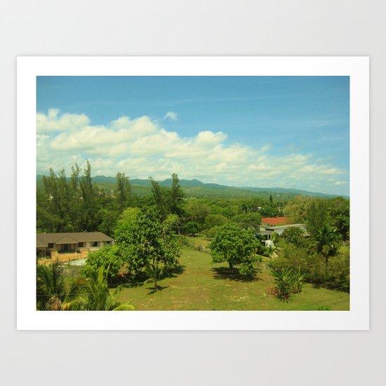 Jamaica - Landscape Art Print