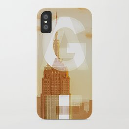 GEARS of NYC iPhone Case