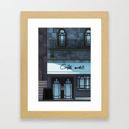 Café art Framed Art Print