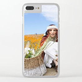 Sandalwood Road Clear iPhone Case