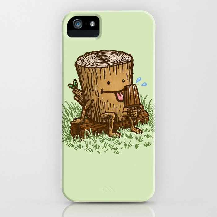 The Popsicle Log iPhone Case