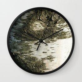 Birch Bark I Wall Clock