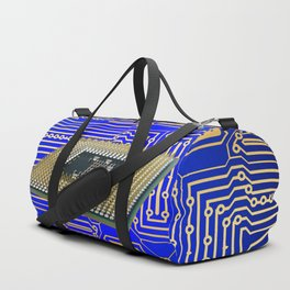 processor cpu board circuits Duffle Bag