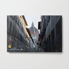 Florence Duomo Near Sunset Metal Print