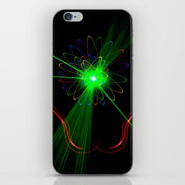 Light show 2 iPhone Skin