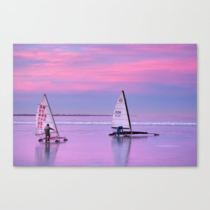 Windsurfing Winnebago Canvas Print