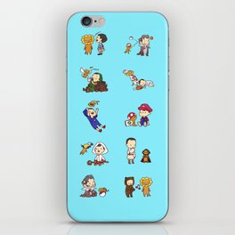 Adventures with Alistair and Guardian Lion-O iPhone Skin