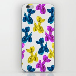 balloon dog iPhone Skin