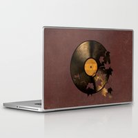 autumn Laptop & iPad Skins featuring Autumn Song  by Terry Fan