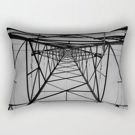 electricity pylon #2 Rectangular Pillow