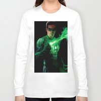 green lantern Long Sleeve T-shirts featuring Green Lantern by Styleman D