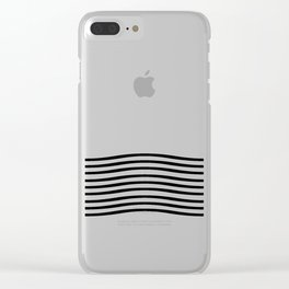Waves Clear iPhone Case