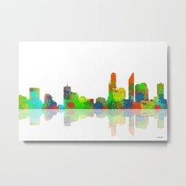 Adelaide Skyline 1 Metal Print