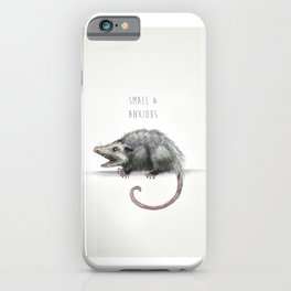 Small and Anxious iPhone Case