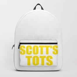 The Office Scott's Tots Light Blue T-Shirt Tee Backpack