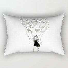 Fool Number One Rectangular Pillow