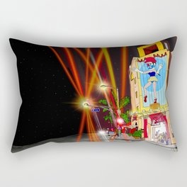venice beach marionette Rectangular Pillow