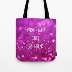 Sparkles are a Girl's Best Friend Tote Bag