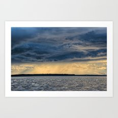 Calm Before the Storm Art Print