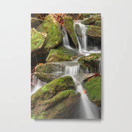 Mossy Rohrbaugh Waterfall Metal Print