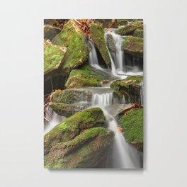 Mossy Rohrbaugh Waterfall Metal Print