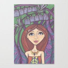 Blue Belle Fairy Canvas Print