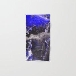 Purple Blue Lightning Hand & Bath Towel