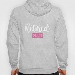 Funny Retro Vintage Retired 2021 Hoody