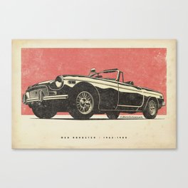 MGB Roadster Canvas Print