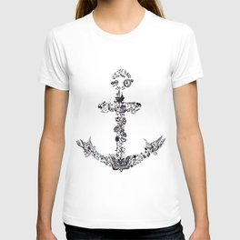 Larry's Tattoos Anchor T-shirt