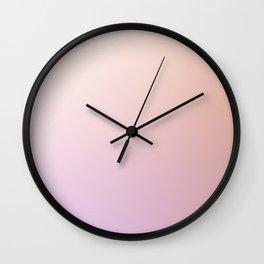 Colorful Pastel Pattern #42 Wall Clock