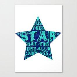 Star Canvas Print