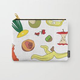 Leftover fruits - illustration Carry-All Pouch